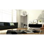Tv-bänk med tygluckor. Ett alternativ till Unnu och Clic. Enastående kvalitet till rätt pris. Dominator