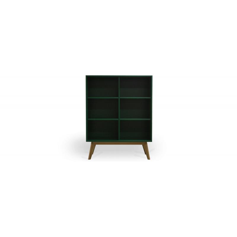Sideboard Design i grönfärg.